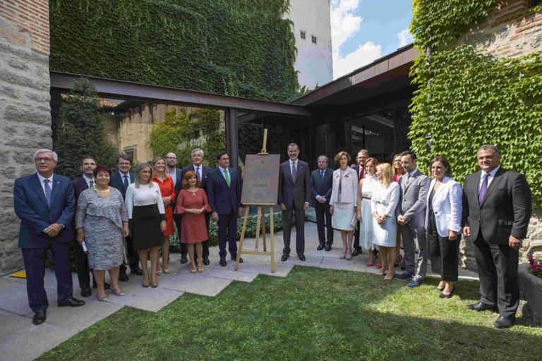 L'alcalde de Tarragona assisteix a la commemoració dels 25è aniversari del Grup de Ciutats Patrimoni de la Humanitat