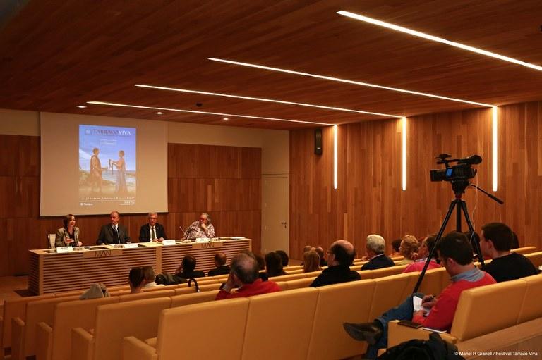 Tarraco Viva presenta a Madrid la 20a edició, dedicada a l'esport i la cultura al Mediterrani clàssic