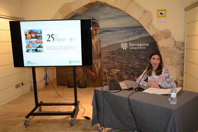 Tarragona celebra el 25è aniversari del Grup Ciutats Patrimoni de la Humanitat