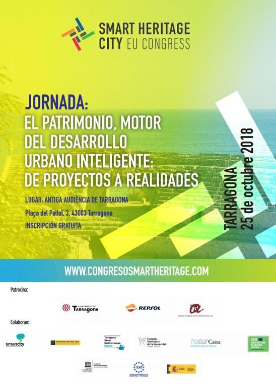Tarragona celebra la 1a Jornada Internacional Smart Heritage City