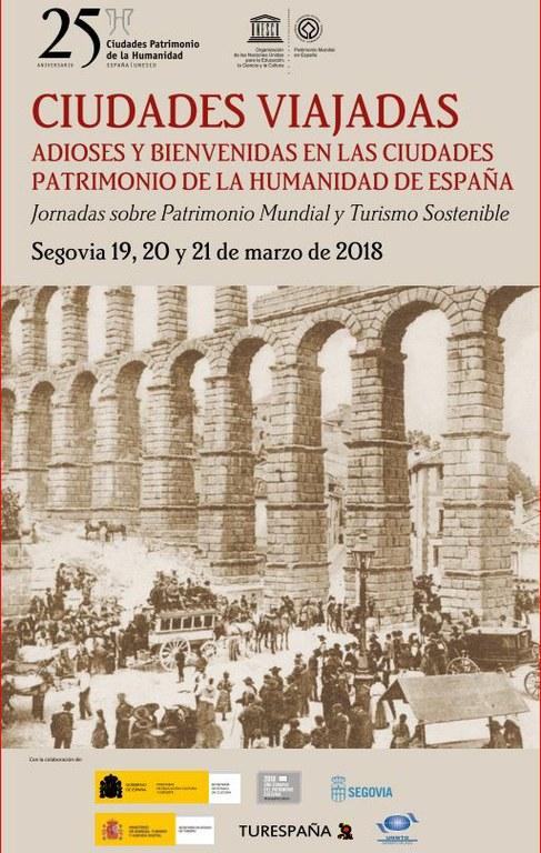 Tarragona participa en les jornades sobre turisme sostenible i patrimoni mundial a Segovia