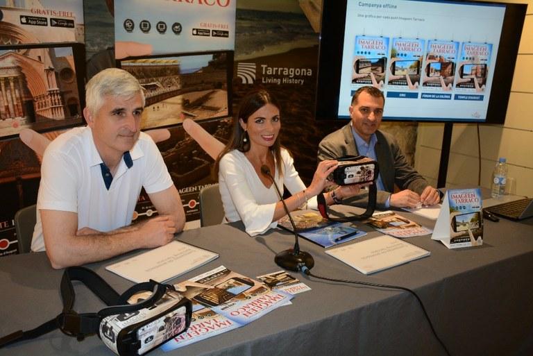 Tarragona Turisme aposta per la creació d'experiències a través de la realitat virtual