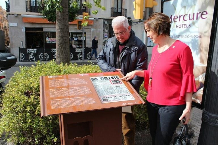 'Espais de memòria' recorda fets rellevants de la repressió franquista i la represa democràtica
