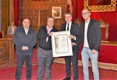 """L'alcalde Ricomà destaca """"la gran tasca que fa l'IPHES per la socialització del coneixement"""""""