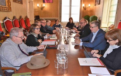 L'Ajuntament de Tarragona i el Departament de Cultura refermen el seu compromís per la conservació del patrimoni romà de la ciutat
