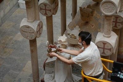 Neteja integral del mausoleu Jaume I