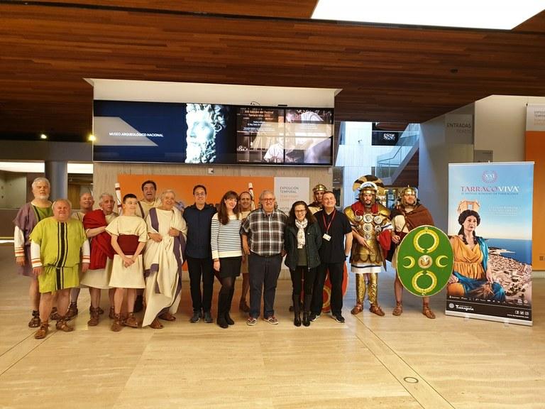 Tarraco Viva es presenta al Museo Arqueológico Nacional de Madrid amb una gran acollida