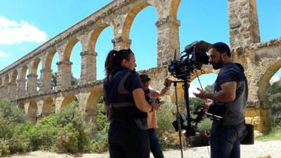 Televisió Espanyola és a Tarragona per rodar l'episodi de la sèrie en 4k «Ciudades Españolas Patrimonio de la Humanidad» dedicat a la ciutat