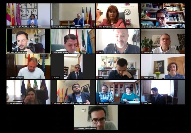 El Grup de Ciutats Patrimoni de la Humanitat demana al Govern espanyol millores en la seva conectivitat