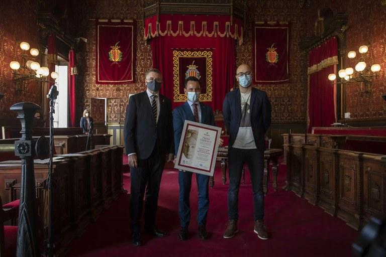 El Grup de Ciutats Patrimoni de la Humanitat ha rebut el Premi Tàrraco 2020 per la seva tasca a favor el Patrimoni de Tarragona
