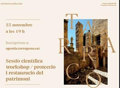 L'alcalde tanca aquesta tarda el cicle de webinars sobre els 20 anys de Tàrraco Patrimoni Mundial