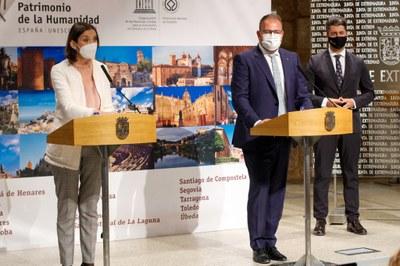 La ministra Reyes Maroto presenta el Pla Estratègic per a la reactivació del turisme de les Ciutats Patrimoni
