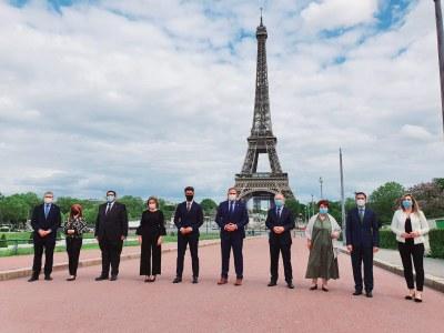 Tarragona assisteix a París a la presentació de les Ciutats Patrimoni i Paradores davant dels principals turoperadors francesos