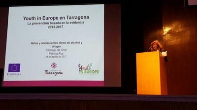 Tarragona presenta el projecte Youth in Europe a Xile