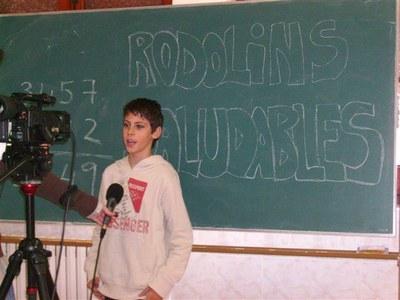 Les escoles de primària de la ciutat difonen missatges saludables en forma de rodolins