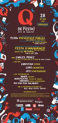 Tarragona dóna el tret de sortida del projecte Q de festa!