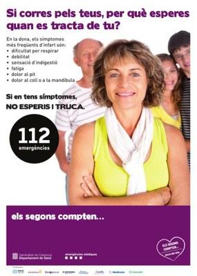 L'Ajuntament de Tarragona s'adhereix a la campanya per millorar l'atenció a les dones amb infart