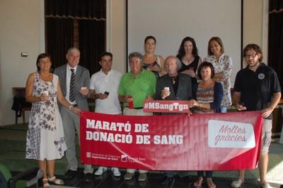 Tarragona prepara  la Marató de Donació de Sang com una jornada festiva