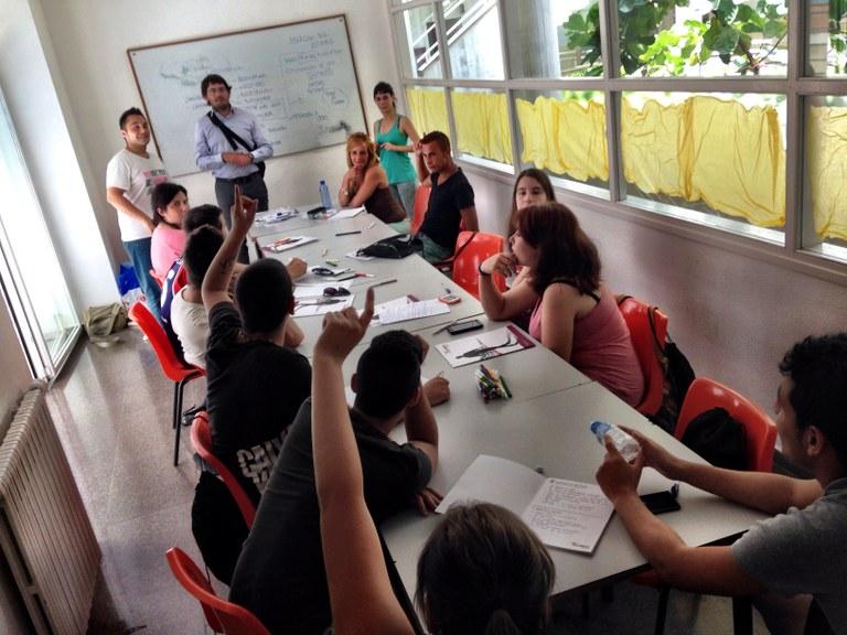 """Aquest cap de setmana s'ha celebrat el Curs """"Joves promotors de salut"""", al Centre Cívic de Bonavista"""