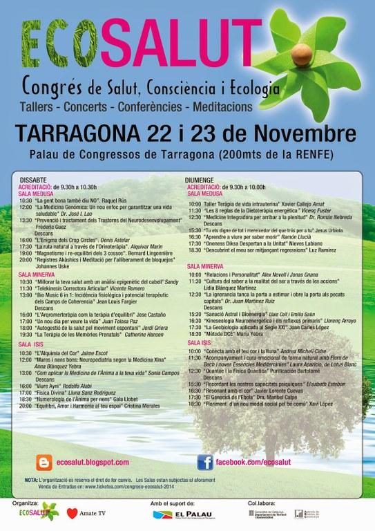 El Palau de Congressos acull el I Congrés Ecosalut: salut, consciència i ecologia