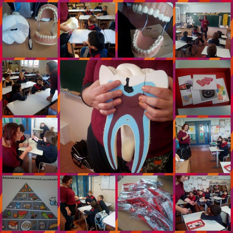 """Més de 1300 alumnes de Tarragona han participat en els tallers """"Cuida't les dents""""."""