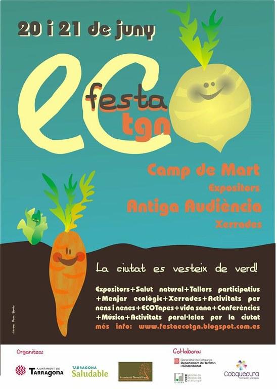Aquest cap de setmana Tarragona acull la primera Festa Eco Tgn