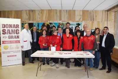 L'Alcalde assisteix a l'inici de la Marató de Donants de Sang 2.0