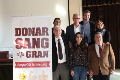 L'Alcalde de Tarragona se suma a la Marató 2.0 de donació de sang de Catalunya