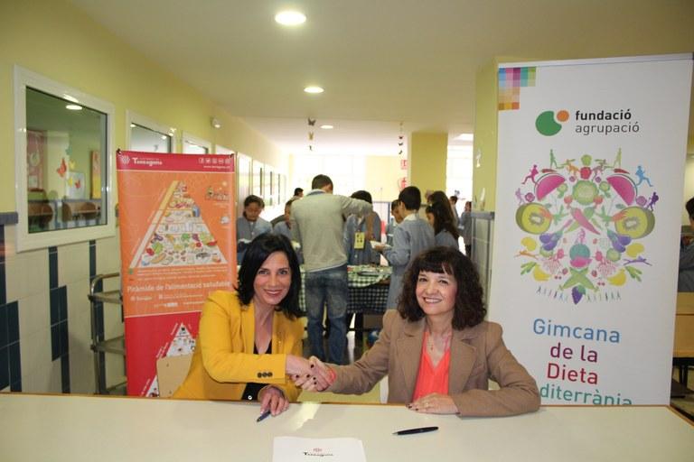 L'Ajuntament i la Fundació Agrupació renoven el conveni pel foment d'un estil de vida saludable
