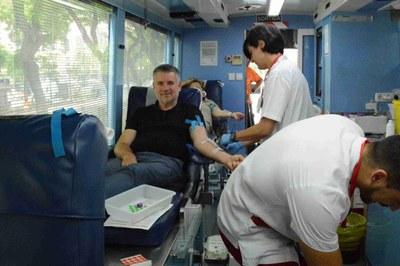 Avui s'inicia la campanya «Aquest estiu anima't a donar sang»