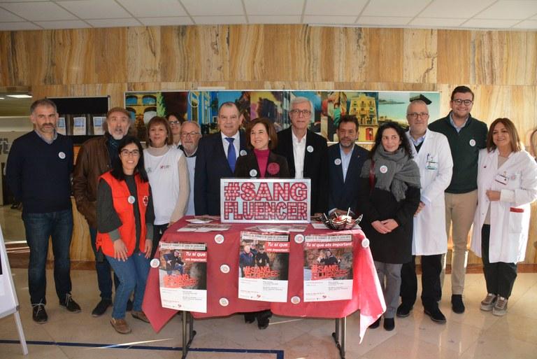 L'Alcalde Ballesteros assegura que 'donar sang no és un acte de solidaritat, sinó de responsabilitat'