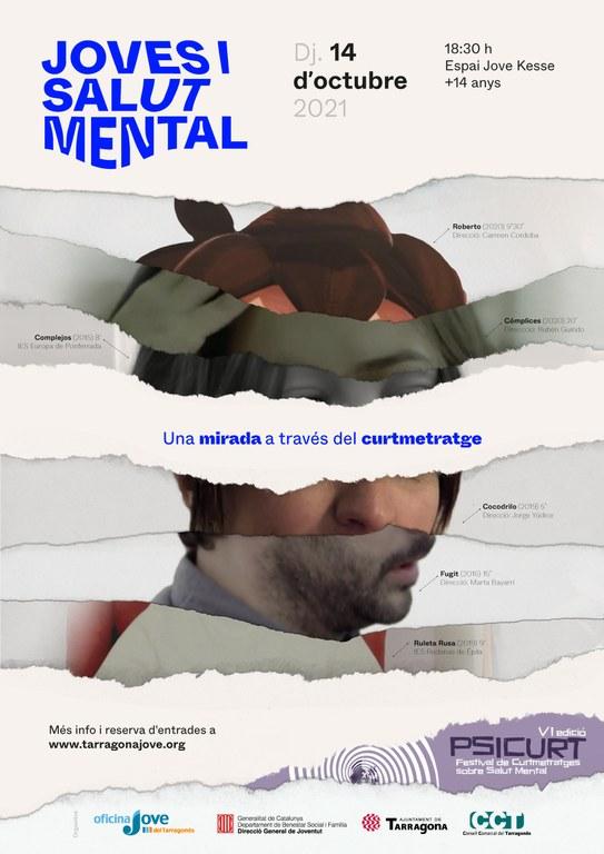 Jornada de reflexió i curtmetratges a l'entorn de la salut mental