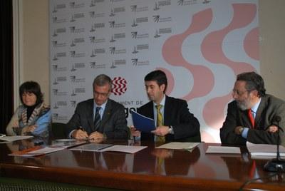 L'Ajuntament signa un conveni de col·laboració amb l'Agència de Protecció de la Salut