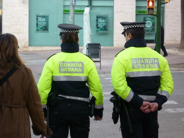 La Guàrdia Urbana posa en marxa la campanya de seguretat de Nadal