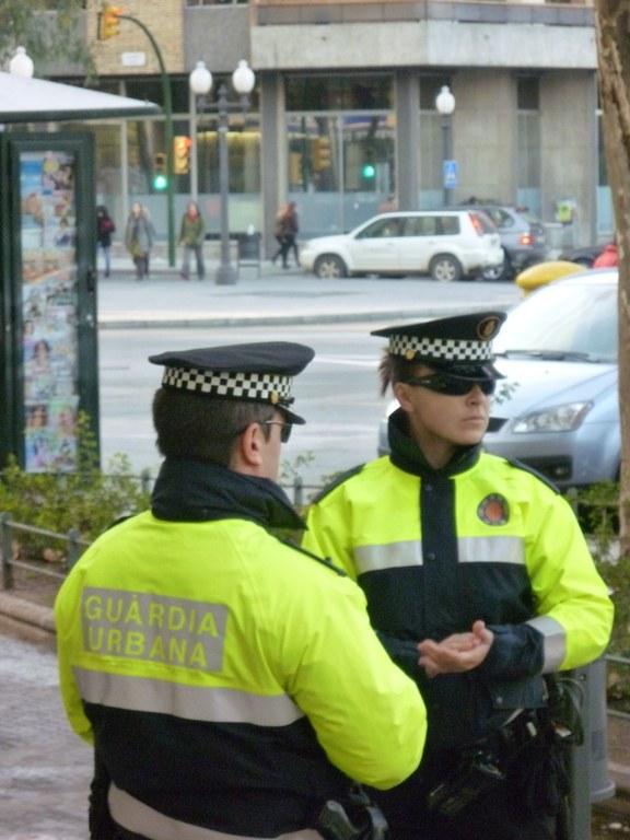 L'operatiu de Nadal de la Guàrdia Urbana ja està en marxa