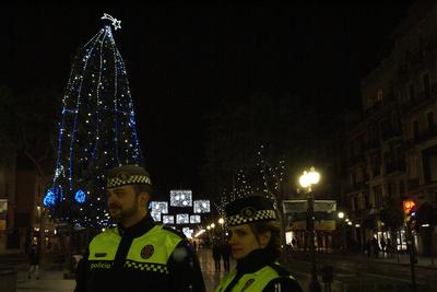 La Guàrdia Urbana reforça la seva presència al carrer durant les festes de Nadal