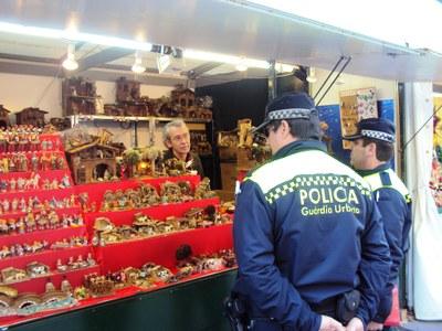 La Guàrdia Urbana reforça la seva presència al carrer durant la campanya de Nadal