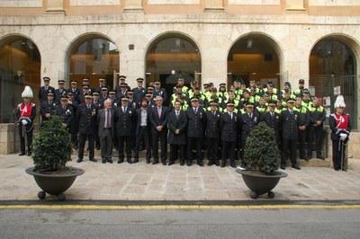 L'alcalde de Tarragona aposta per continuar amb la professionalització i la proximitat de la Guàrdia Urbana