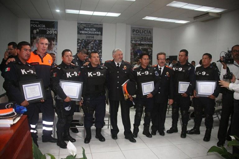 L'Associació de Voluntaris de Protecció Civil signa un conveni de col·laboració amb la policia de l'estat de Veracruz (Mèxic)