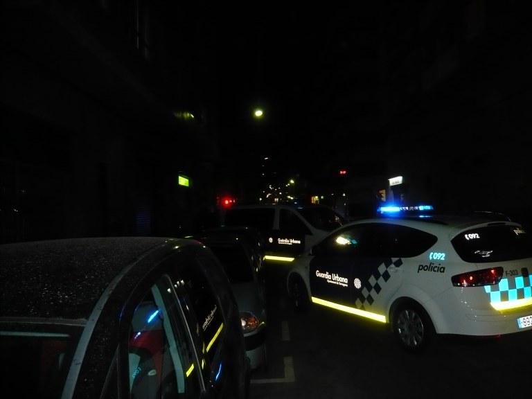Una patrulla  va interceptar a una conductora que circulava sota els efectes de begudes alcohòliques