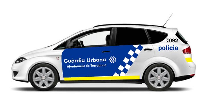 Agents de la Guàrdia Urbana detenen quatre persones per un presumpte delicte de furt