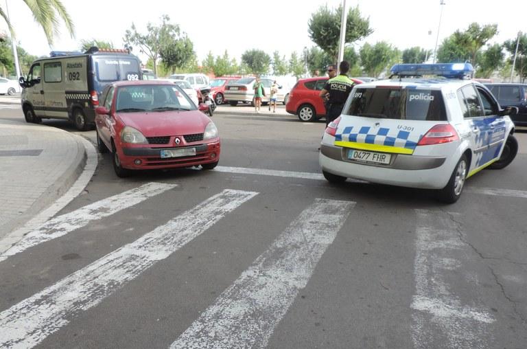 Detingudes tres persones a les Gavarres