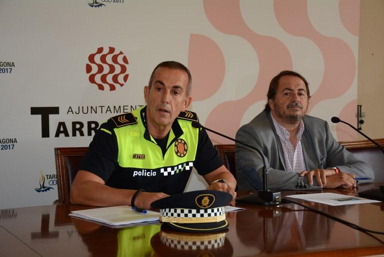 Els fets delictius a les platges de Tarragona s'han reduït un 50%