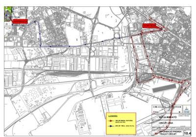 Alteracions de trànsit per la celebració de la Mitja Marató dels XVIII Jocs Meditterranis