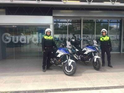 La Guàrdia Urbana estrena dues noves motocicletes