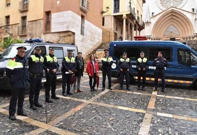 La Guàrdia Urbana i els Mossos d'Esquadra posen en marxa un pla integral de seguretat a la Part Alta
