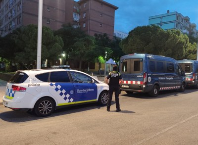 Dos detinguts al barri de Campclar en una operació conjunta de Guàrdia Urbana i Mossos d'Esquadra contra el narcotràfic
