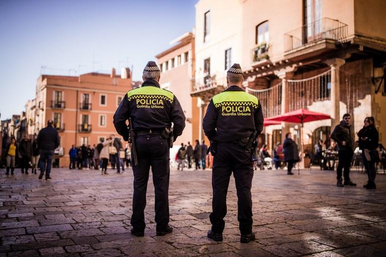Guàrdia Urbana i Mossos d'Esquadra fan un operatiu conjunt a la Part Alta