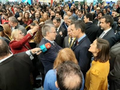 L'alcalde Ricomà trasllada al president Pedro Sánchez la necessitat de crear una agència de seguretat química