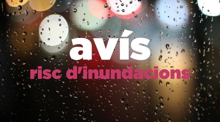 L'Ajuntament de Tarragona activa el Pla d'Actuació Municipal en fase d'alerta per risc d'inundacions